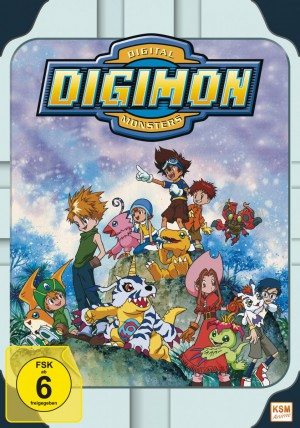 Digimon Adventure - Volume 1 Episode 01-18 (Limited Edition im Sammelschuber)