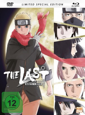 The Last: Naruto - The Movie - Mediabook - Limited Special Edition [DVD + Blu-ray]