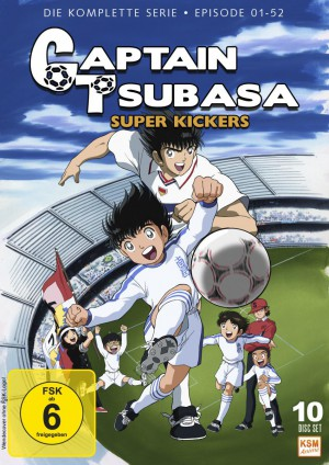 Captain Tsubasa: Super Kickers - Gesamtedition Folgen 1-52 [DVD]