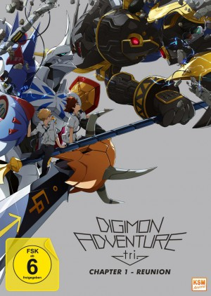 Digimon Adventure tri. Chapter 1 - Reunion [DVD]