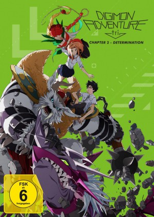Digimon Adventure tri. Chapter 2 - Determination [DVD]