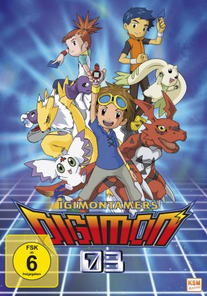 Digimon Tamers - Volume 1 Episode 01-17 im Sammelschuber