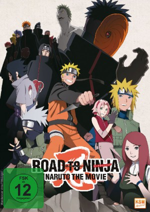 Naruto Shippuden - The Movie 6: Road to Ninja (2012) [DVD]