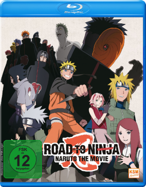 Naruto Shippuden - The Movie 6: Road to Ninja (2012) [Blu-ray]