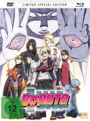 Boruto - Naruto The Movie - Mediabook - Limited Special Edition [DVD + Blu-ray]