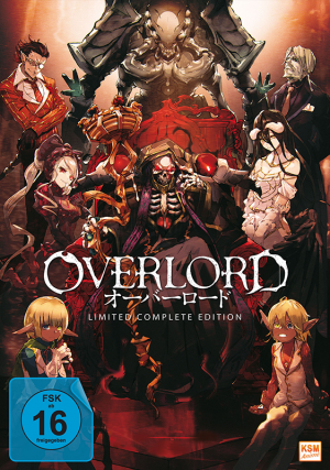 Overlord - Limited Complete Edition [DVD] - Erstauflage! - 13 Episoden
