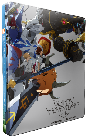 Digimon Adventure tri. Chapter 1 - Reunion [Blu-ray] im FuturePak