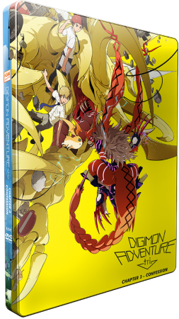Digimon Adventure tri. Chapter 3 - Confession [DVD] im FuturePak