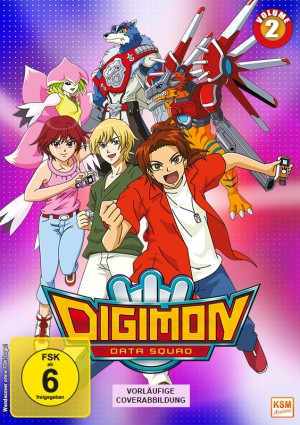 Digimon Data Squad - Volume 2: Episode 17-32
