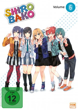 Shirobako - Volume 6: Episode 21-24 [DVD]