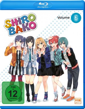 Shirobako - Volume 6: Episode 21-24 [Blu-ray]