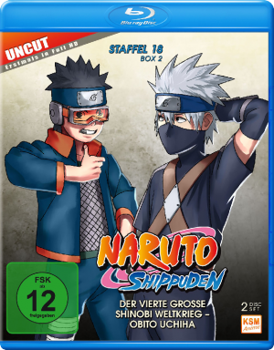 Naruto Shippuden - Staffel 18 Box 2: Episode 603-613 (uncut) [Blu-ray]