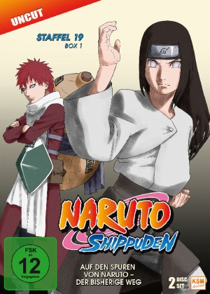 Naruto Shippuden - Staffel 19 Box 1: Episode 614-623 (uncut) [DVD]