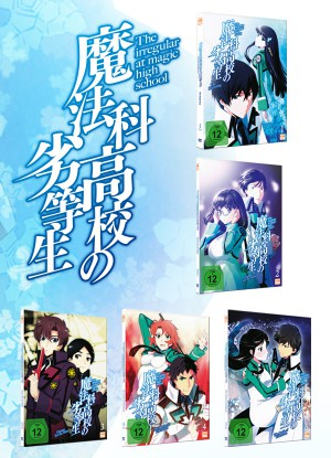The Irregular at Magic High School - Fan Edition - Volume 1-5 (26 Folgen)  [DVD]