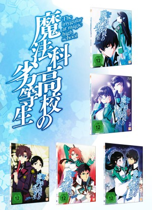 The Irregular at Magic High School - Fan Edition - Volume 1-5 (26 Folgen)  [Blu-ray]
