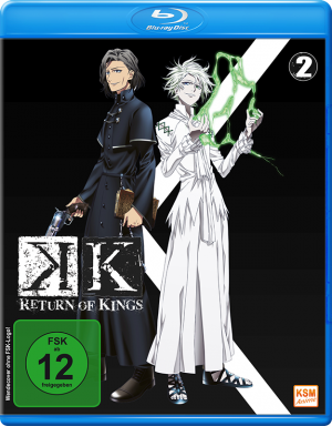 K - Return of Kings - Volume 2: Episode 06-09 [Blu-ray]