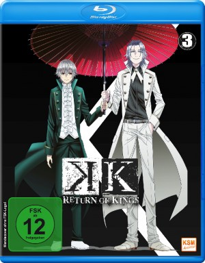 K - Return of Kings - Volume 3 : Episode 10-13 [Blu-ray]