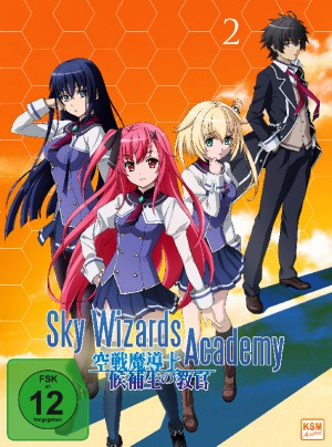 Sky Wizards Academy - Volume 2: Episode 07-12 + OVA