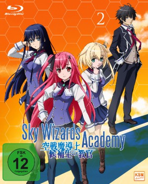 Sky Wizards Academy - Volume 2: Episode 07-12 + OVA [Blu-ray]