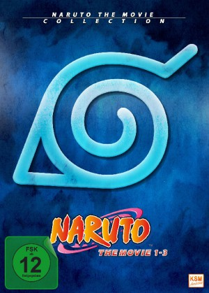Naruto -The Movie Collection [Limited Edition Movie 1-3]