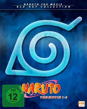 Naruto -The Movie Collection [Limited Edition Movie 1-3]  [Blu-Ray]