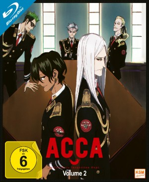 ACCA: 13 Territory Inspection Dept. - Volume 2: Episode 05-08 [Blu-ray]