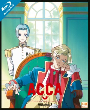 ACCA 13: Territory Inspection Dept. - Volume 3: Episode09-12 [Blu-ray]