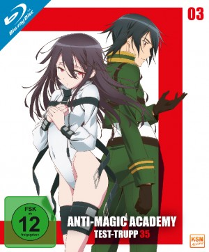 Anti-Magic Academy - Test-Trupp 35 - Volume 3: Episode 09-12 [Blu-ray]