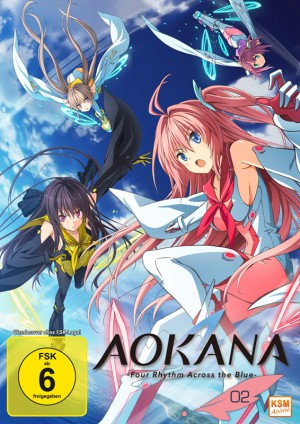 Aokana - Four Rhythm Across the Blue - Volume 2: Episode 07-12 [DVD]
