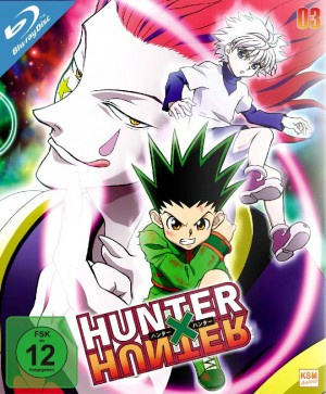 HUNTERxHUNTER - Volume 3: Episode 27-36 [Blu-ray]