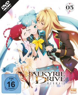 Valkyrie Drive: Mermaid - Volume 3: Episode 09-12 [DVD]