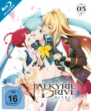 Valkyrie Drive: Mermaid - Volume 3: Episode 09-12 [Blu-ray]