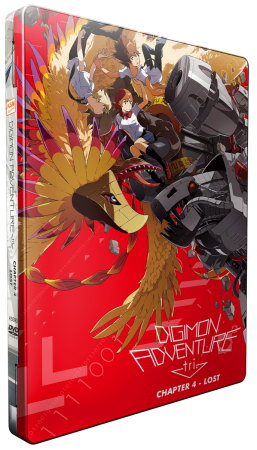 Digimon Adventure tri. Chapter 4 - Lost [DVD] im FuturePak