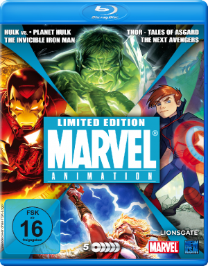 Marvel Box - New Edition [Blu-ray Edition]