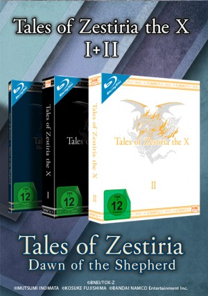Komplettbundle Tales of Zestiria - The X (Staffel 1, Staffel 2, OVA) [Blu-ray]