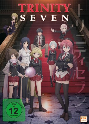 Trinity Seven - Gesamtedition: Episode 01-12