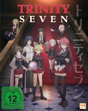 Trinity Seven - Gesamtedition: Episode 01-12 [Blu-ray]