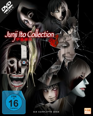 Junji Ito Collection - Gesamtedition: Episode 01-12 [DVD]