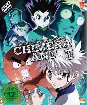 HUNTERxHUNTER - Volume 10: Episode 101-112 [DVD]