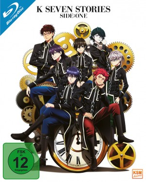 K: Seven Stories - Side One: Movie 1-3 [Blu-ray]