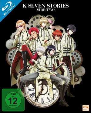 K - Seven Stories - Side:Two (Movie 4-6) [Blu-ray]