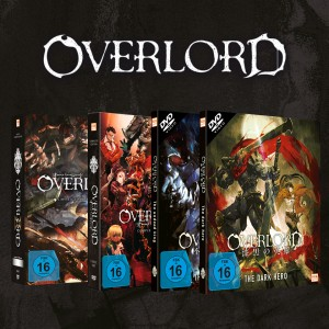 Overlord - Gesamtbundle: Staffel 1&2 + Movie 1&2 [DVD]