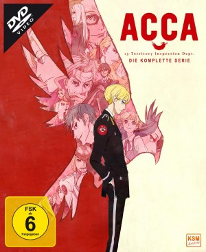 ACCA - Gesamtedition: Episode 01-12 [DVD]