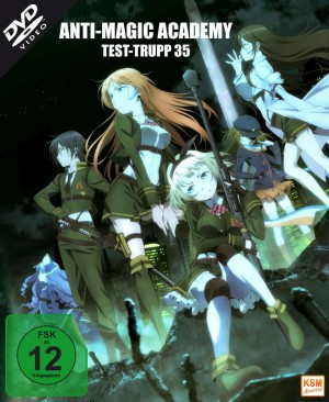 Anti Magic Academy - Test-Trupp 35 - Gesamtedition: Episode 01-12 [DVD]