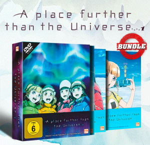 A place further than the Universe - Gesamtedition: Episode 1-13 [DVD]