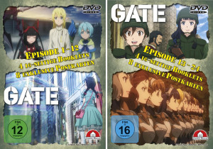 Gate I + II - Gesamtedition - 2 Schuber [DVD]