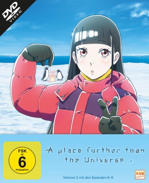 A place further than the Universe - Volume 2: Episode 06-09 [DVD]