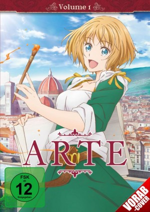ARTE - Vol. 1: Episode 01-04 [DVD]