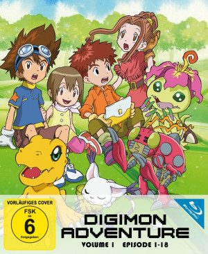 Digimon Adventure - Staffel 1.1: Episode 01-18 [Blu-ray]