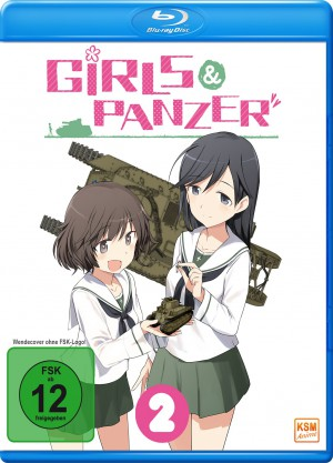 Girls & Panzer - Volume 2: Episode 05-08 [Limited Edition][Blu-ray]